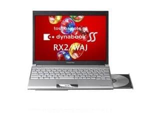 Toshiba's Dynabook SS RX2/WAJ with 512GB SSD