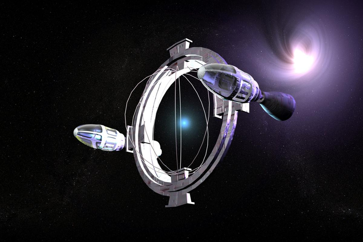 The warp drive broke away from being a wholly fictional concept in 1994 (Image: Shutterstock)