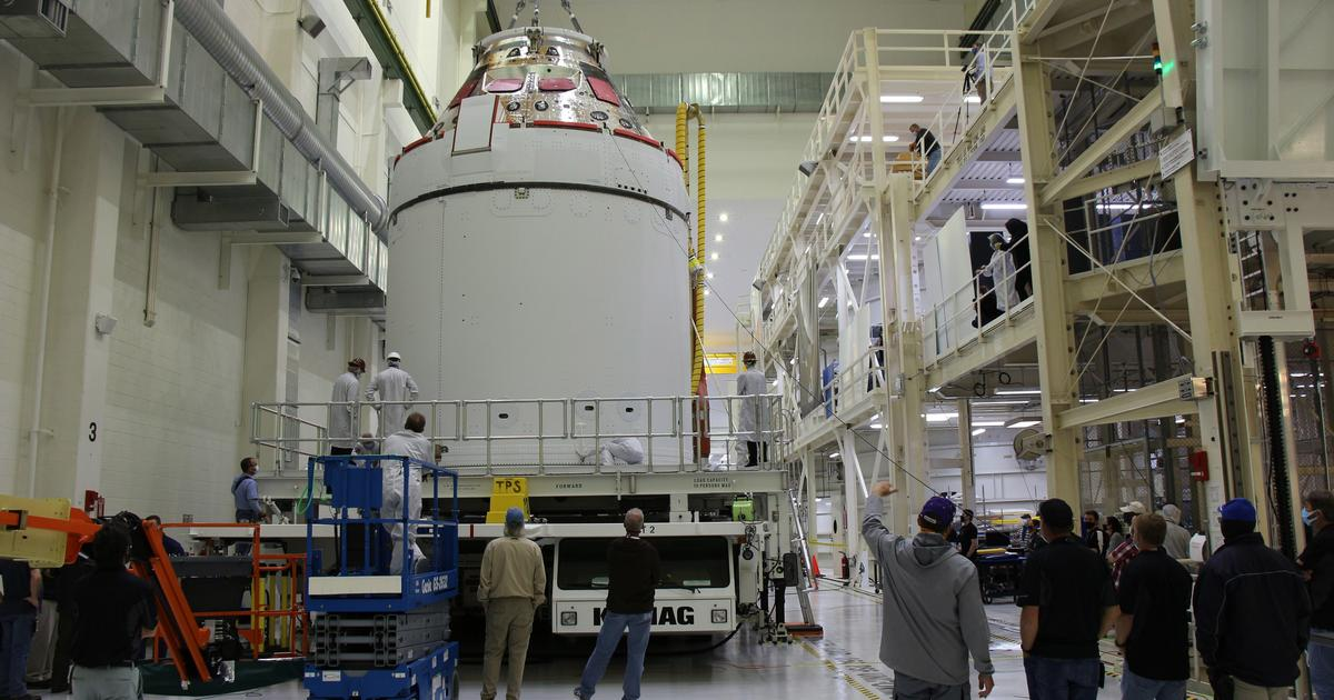 NASA takes delivery of Orion Artemis I spacecraft