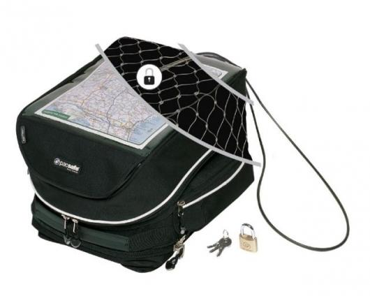 PacSafe's TankSafe for motorcyclists