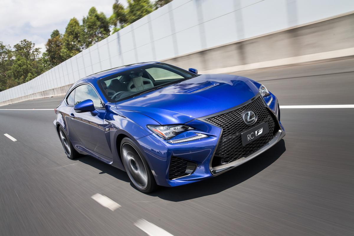 The new performance and image flagship of Lexus, the RC F