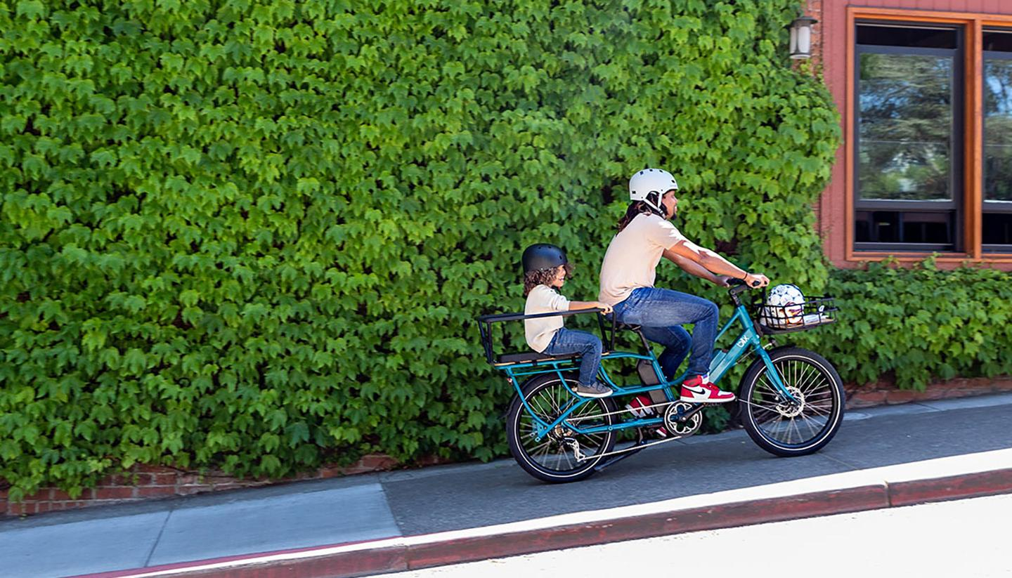 Blix's Packa Genie ebike in action