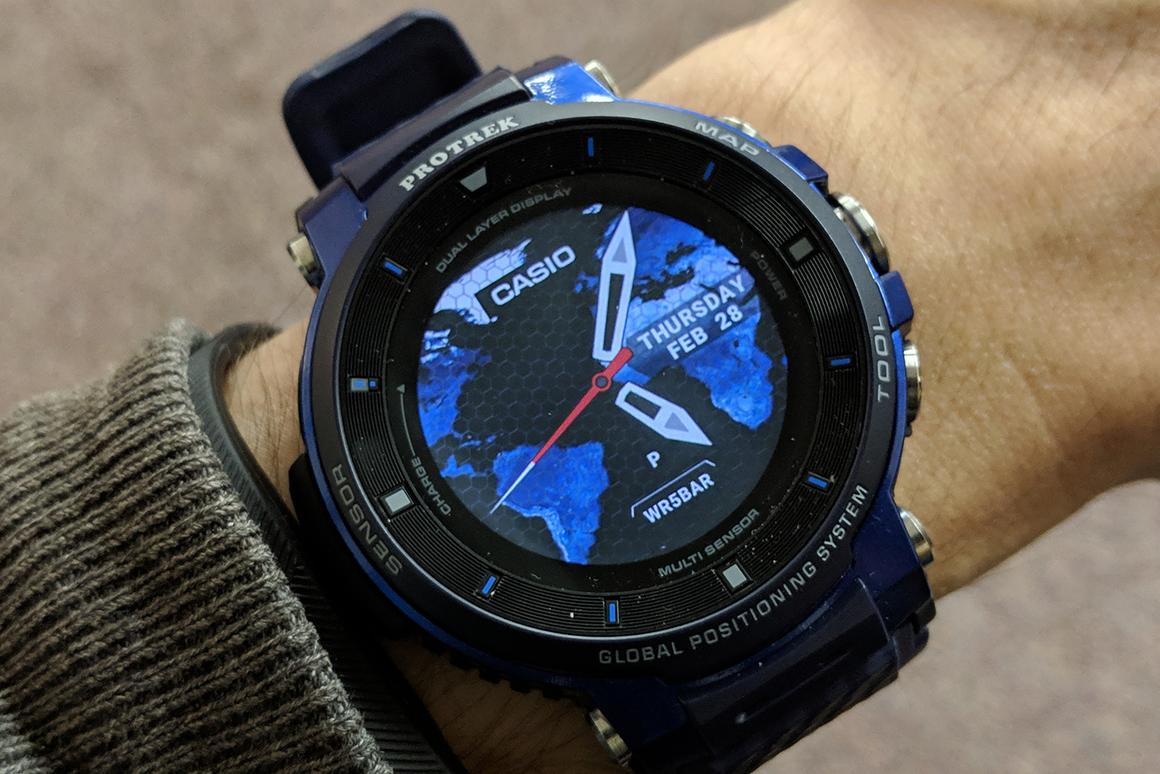 New Atlas has been giving the Casio Pro Trek WSD-F30 a test run