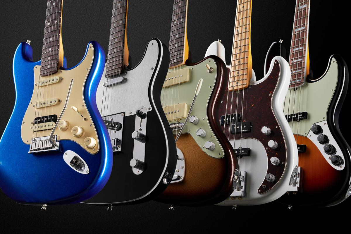 The American Ultra Series guitars and basses from Fender