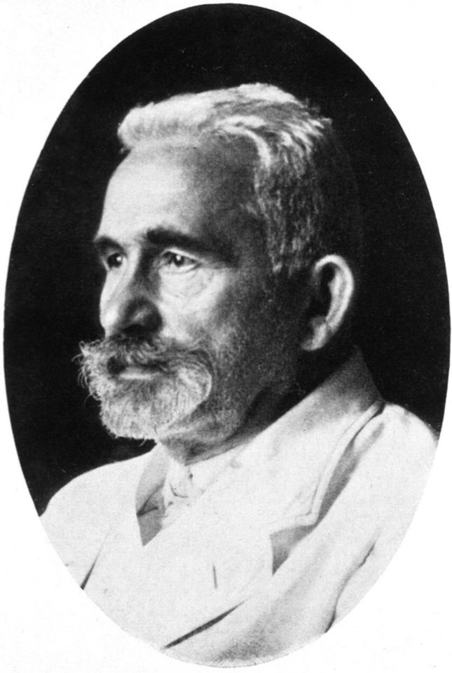 Emil Kraepelin in the year of death, 1926