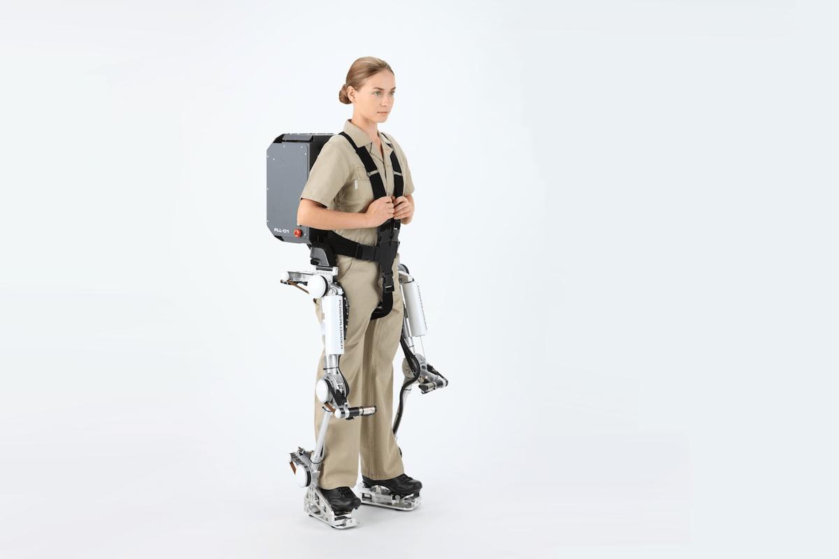 Panasonic's Power Loader Light exoskeleton