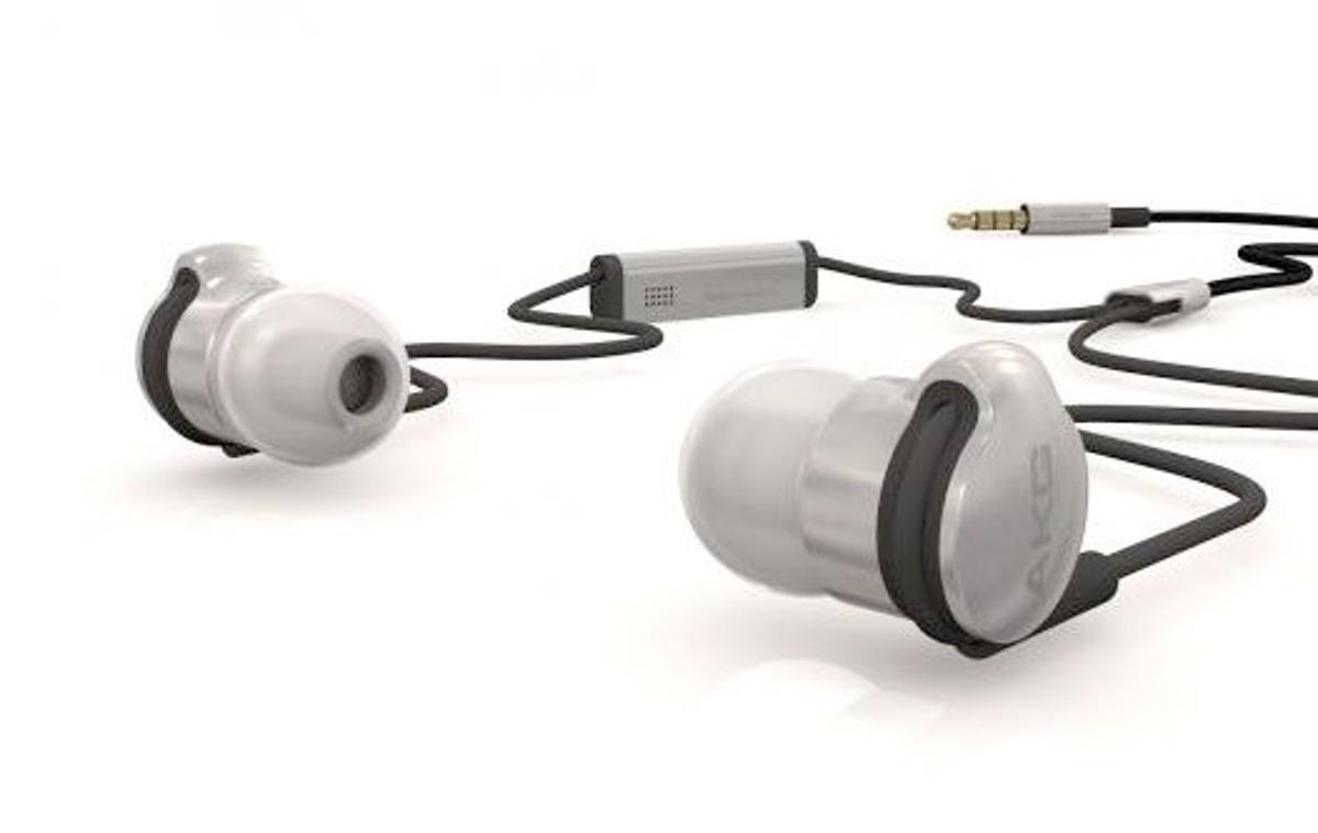 AKG has unveiled its stainless steel 3-way K3003 earphones, which sell for EUR 1,000 a pair (Photo: Colette)