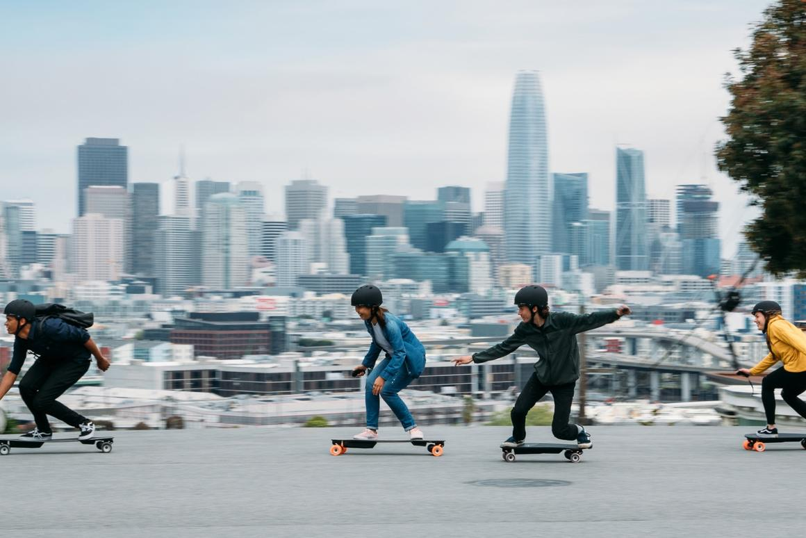 Boosted Boards expects to start shipping its new electric skateboards in late May or June