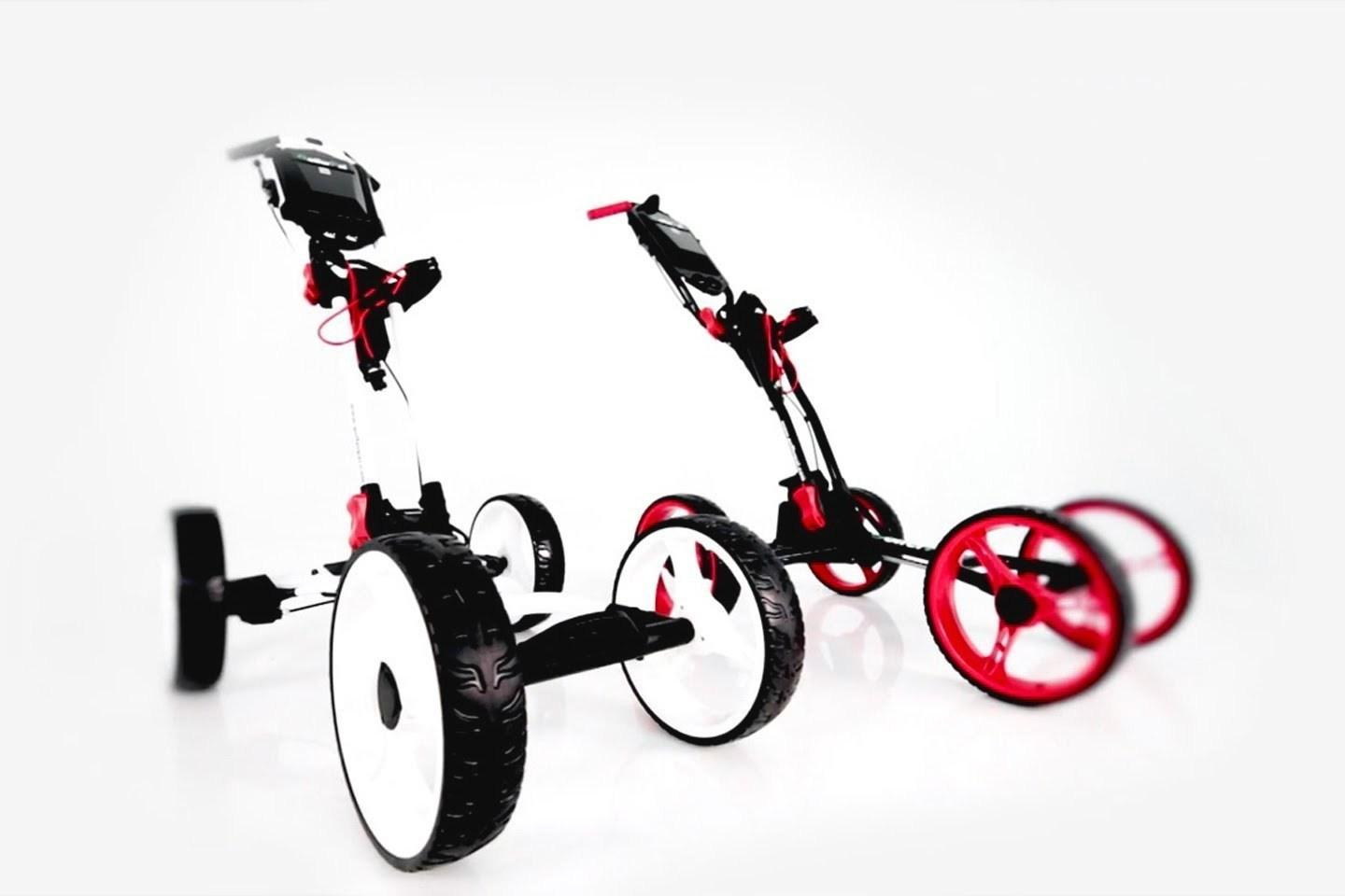 The EasyPal is a nice-looking golf trolley in its own right