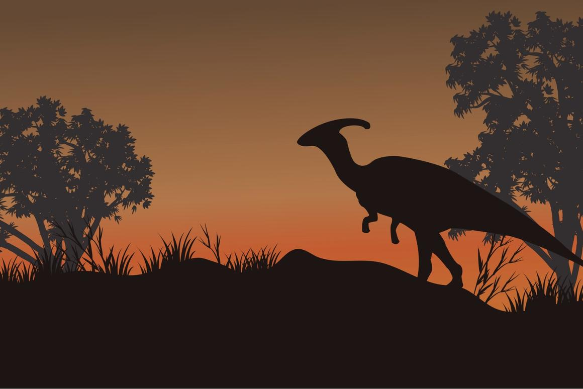 """The feces were believed to have come from hadrosaurs, known as""""duckbilled dinosaurs"""" for their wide and flat snouts"""