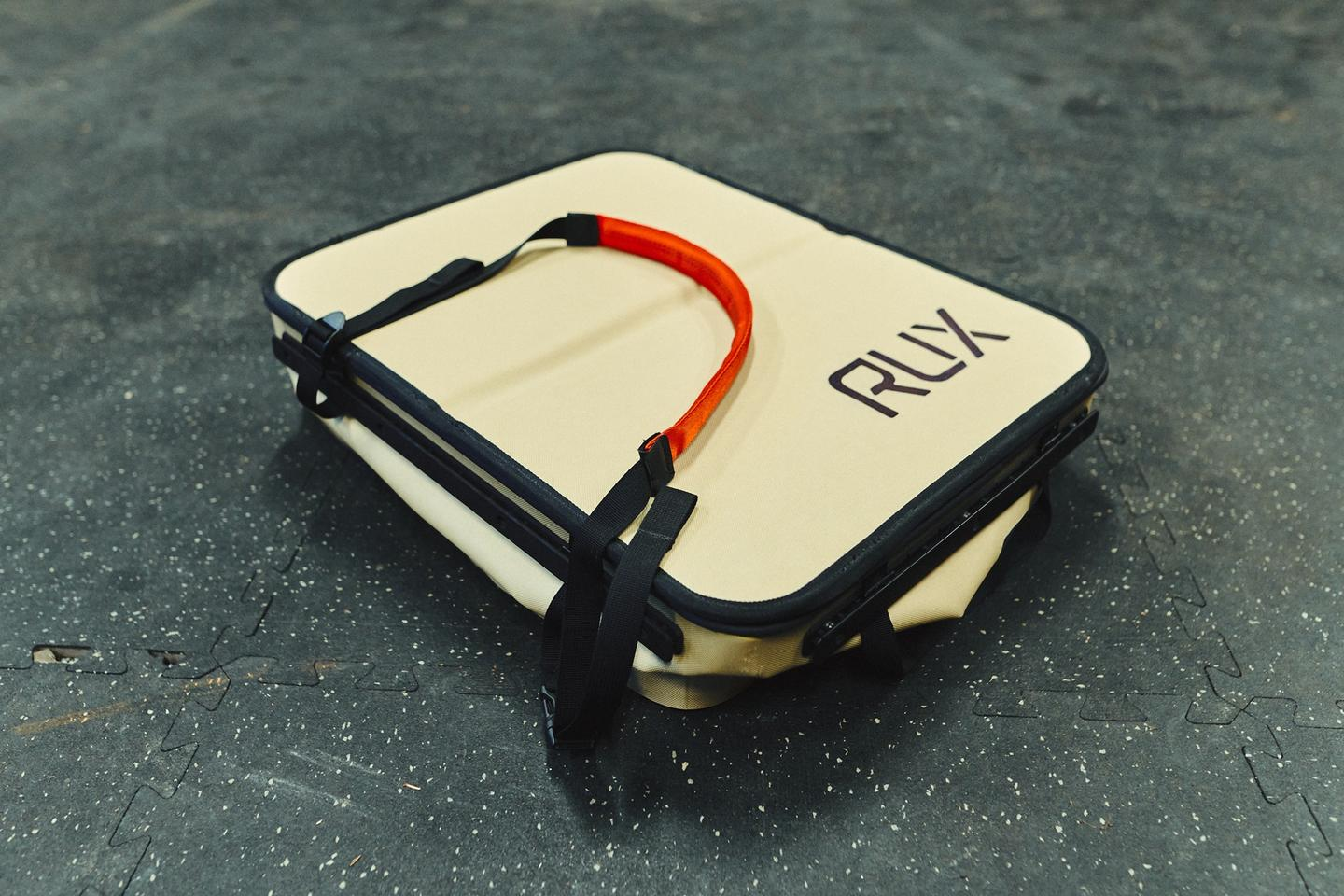 The Rux 70 packs down to just over 3 in tall, making it easy to stash and store when not in use