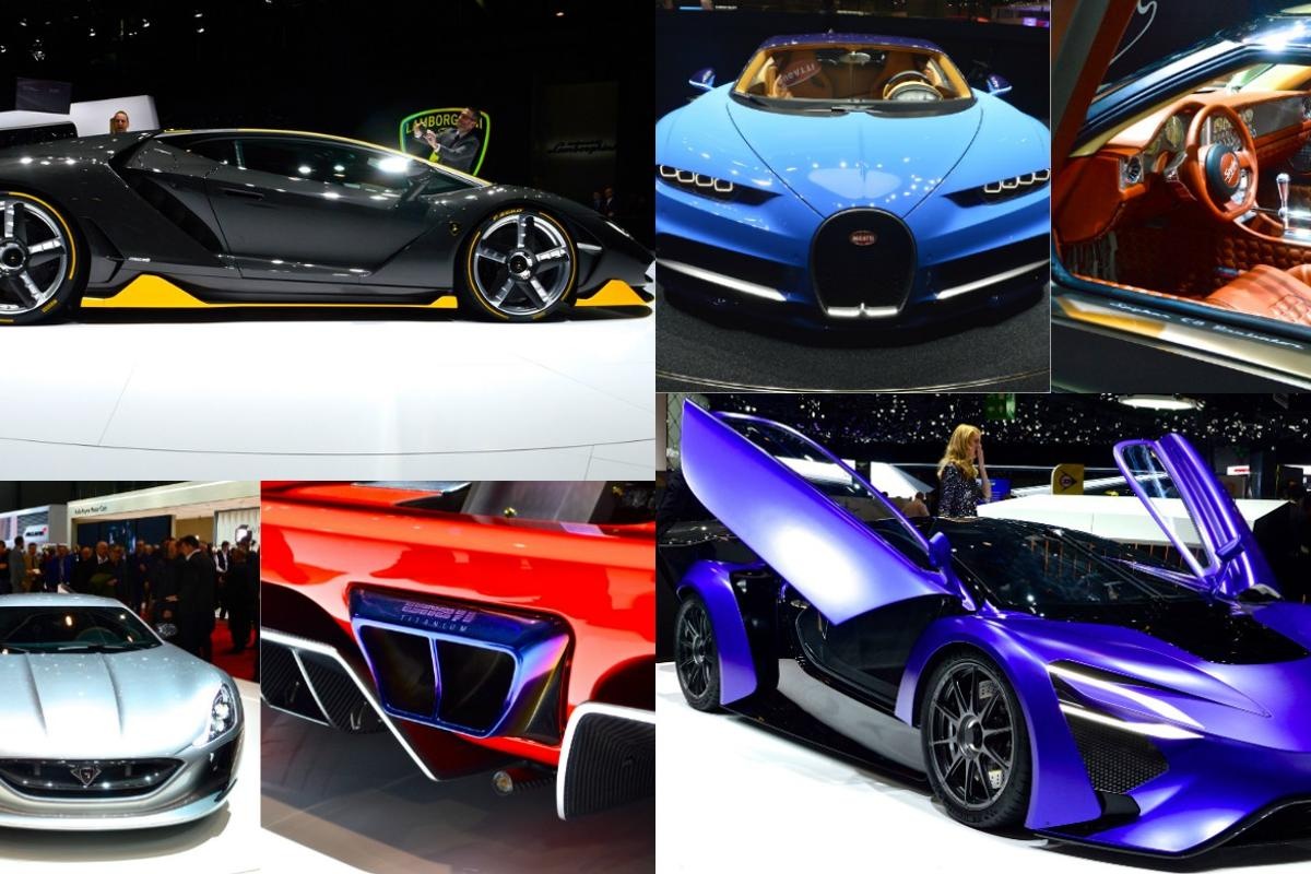 Sports cars of Geneva