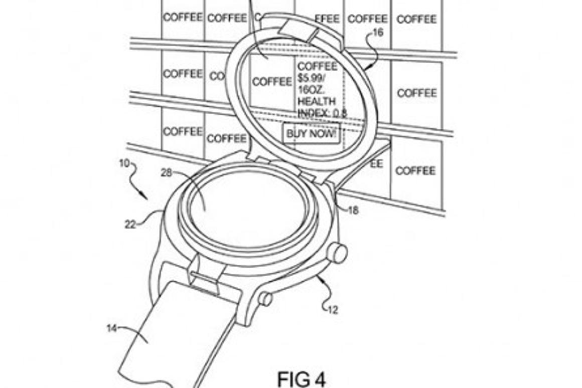 A patent for a Google smartwatch was spotted last year