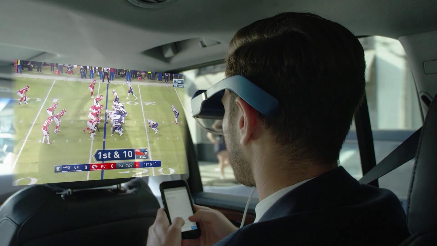 Catch the game in a cab