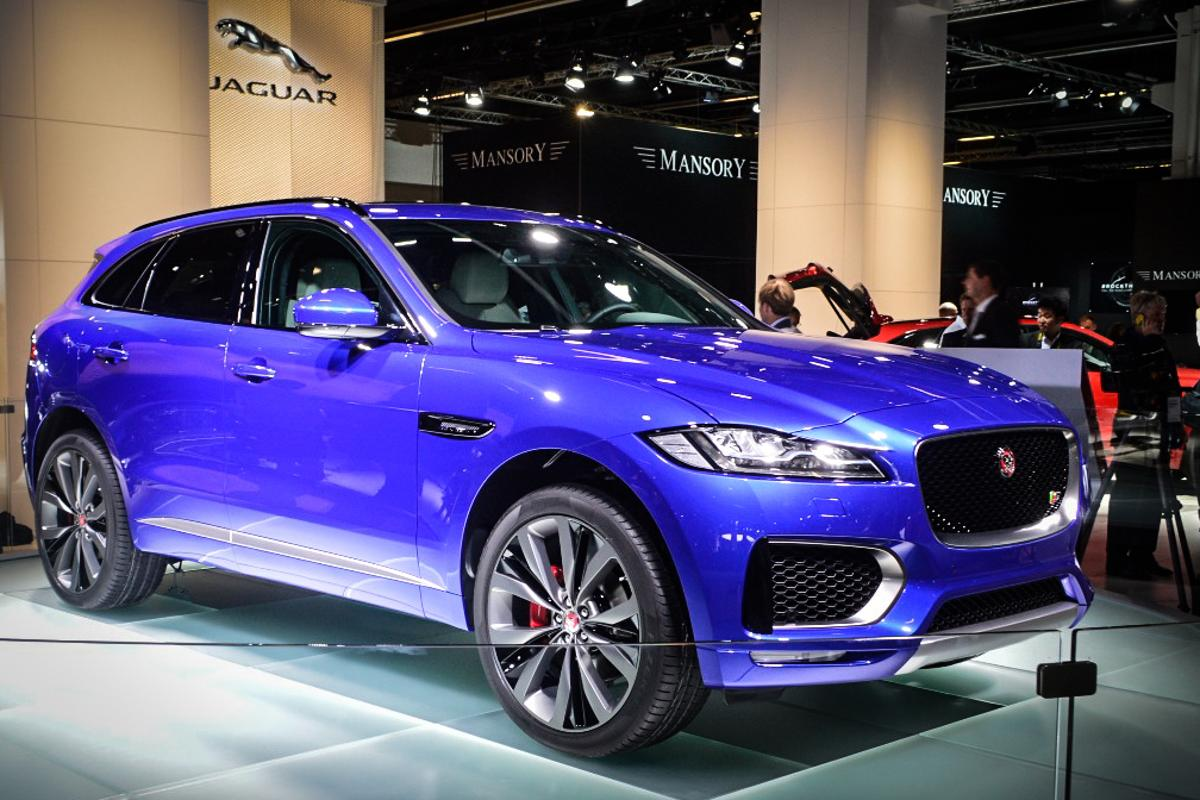 The F-Pace is the production version of the C-X17 concept