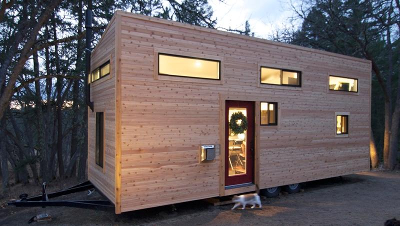 Home is a tiny house that cost just US$33k in total to build