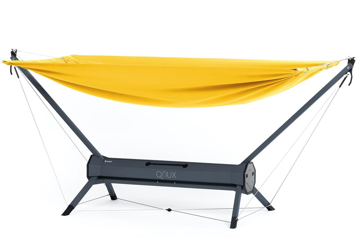 The QNUX hammock is presently on Kickstarter