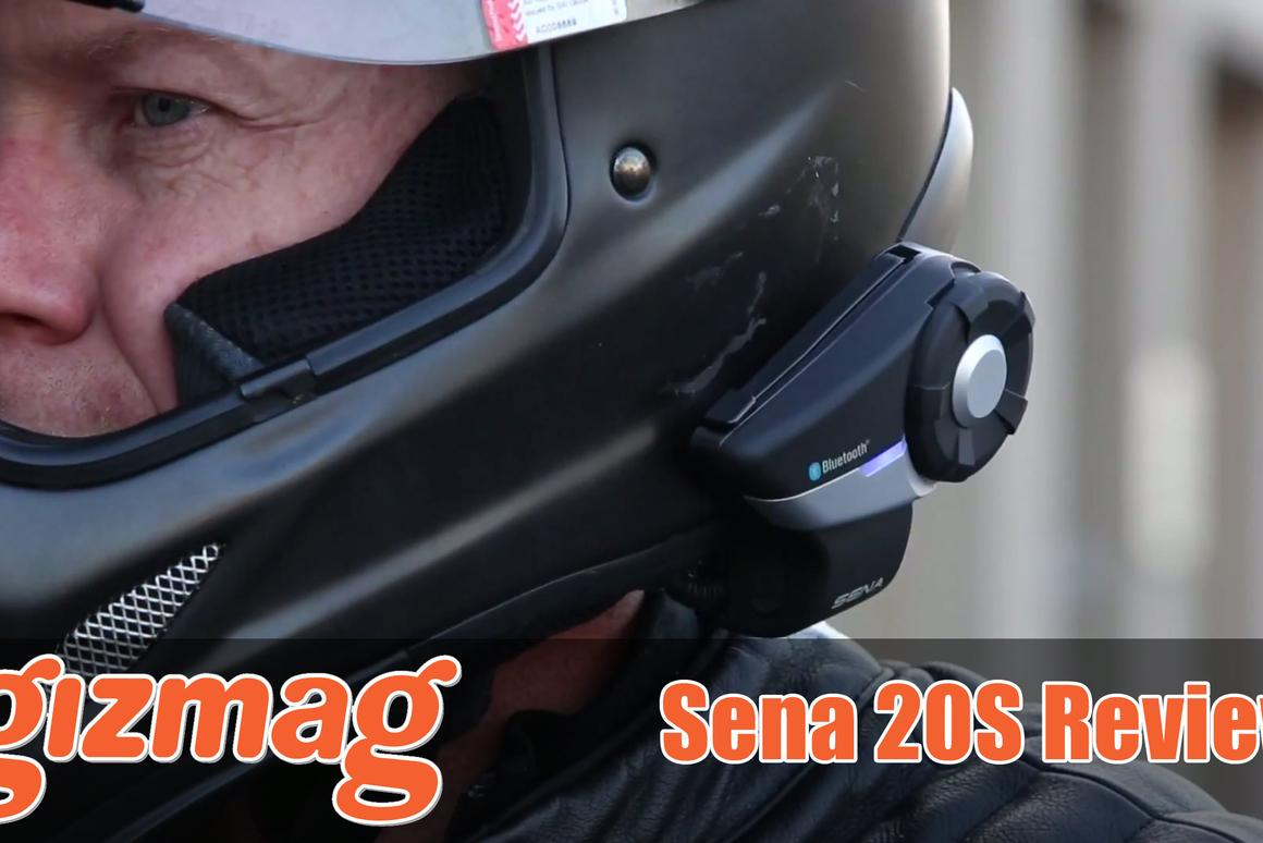 Sena's 20S - with dual Bluetooth chips, audio multitasking is now on the menu.