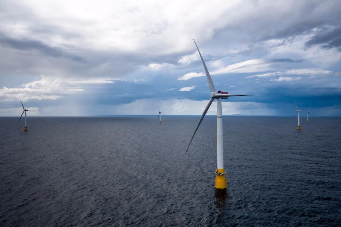 Hywind Scotland, the world's first floating wind farm,has just been fired up