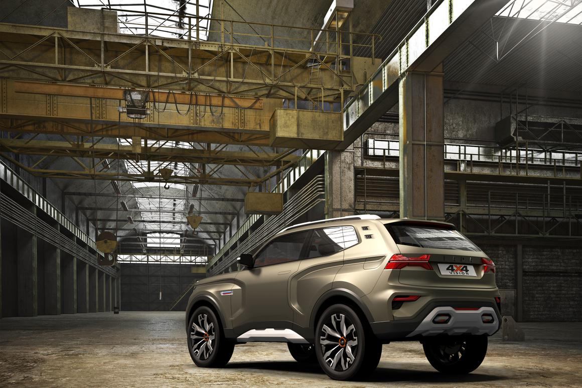 Lada keeps it rugged with 4x4 Vision concept SUV