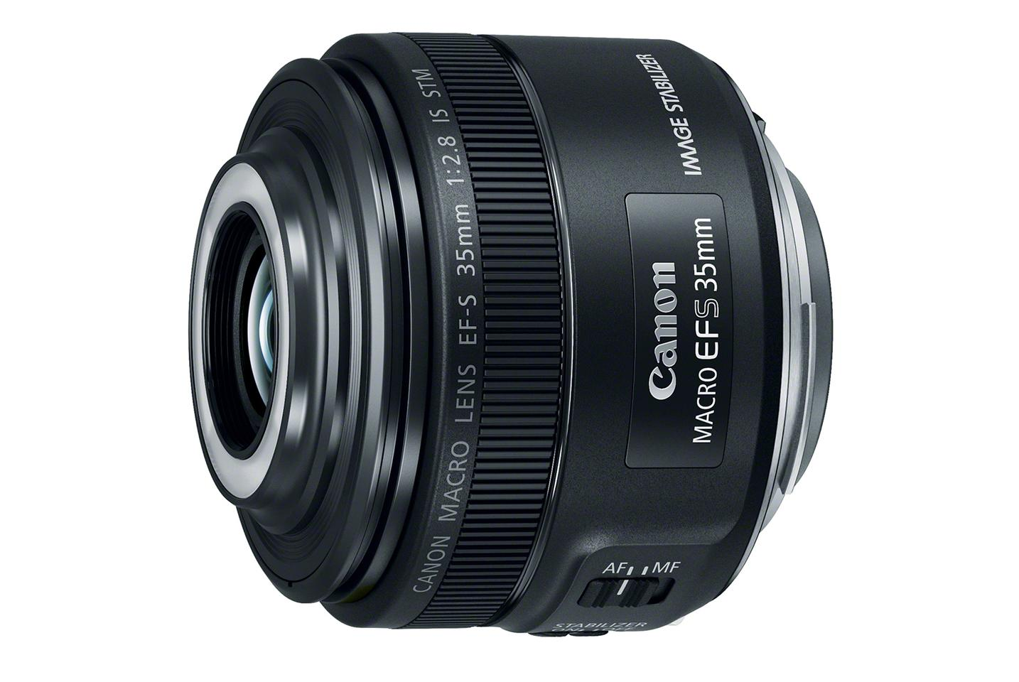The Canon EF-S 35-mm F2.8 Macro IS STM is designed for use with Canon's APS-C DSLRs