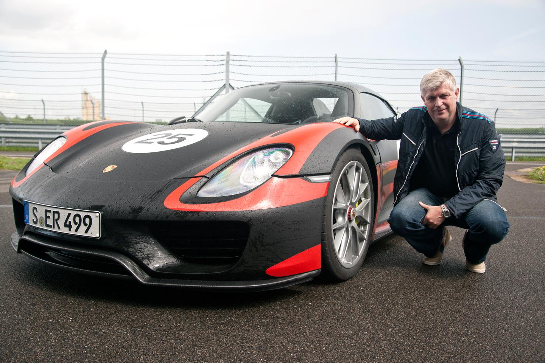 Porsche's latest 918 Spyder