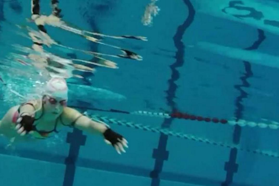 The system was tested out in September 2015by ten professional swimmers