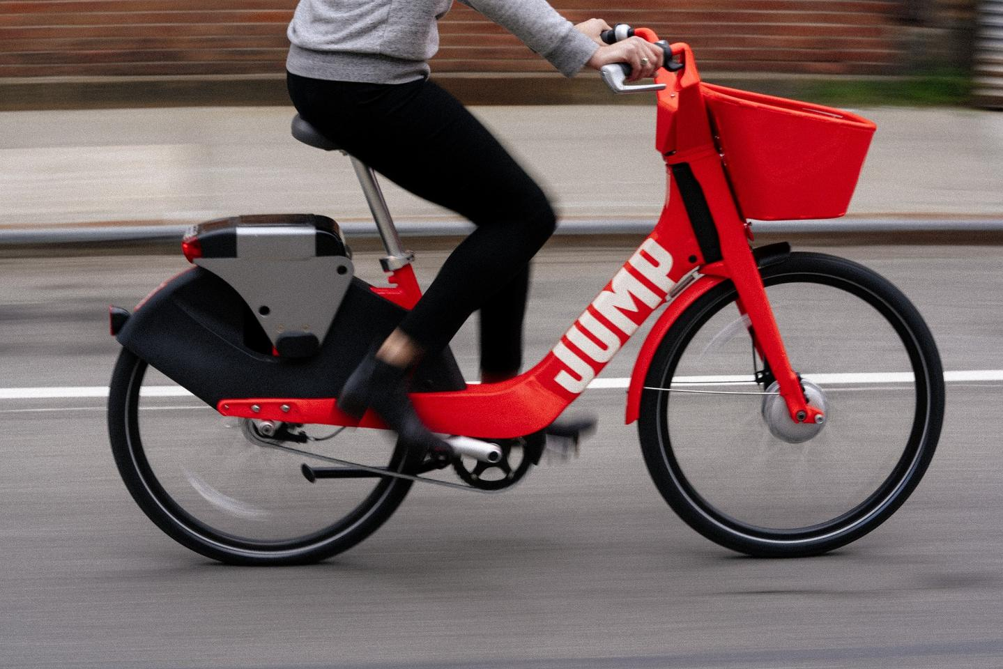 Based in San Francisco, startup Jump already has its bikes on the city's streets, along with those of Washington DC