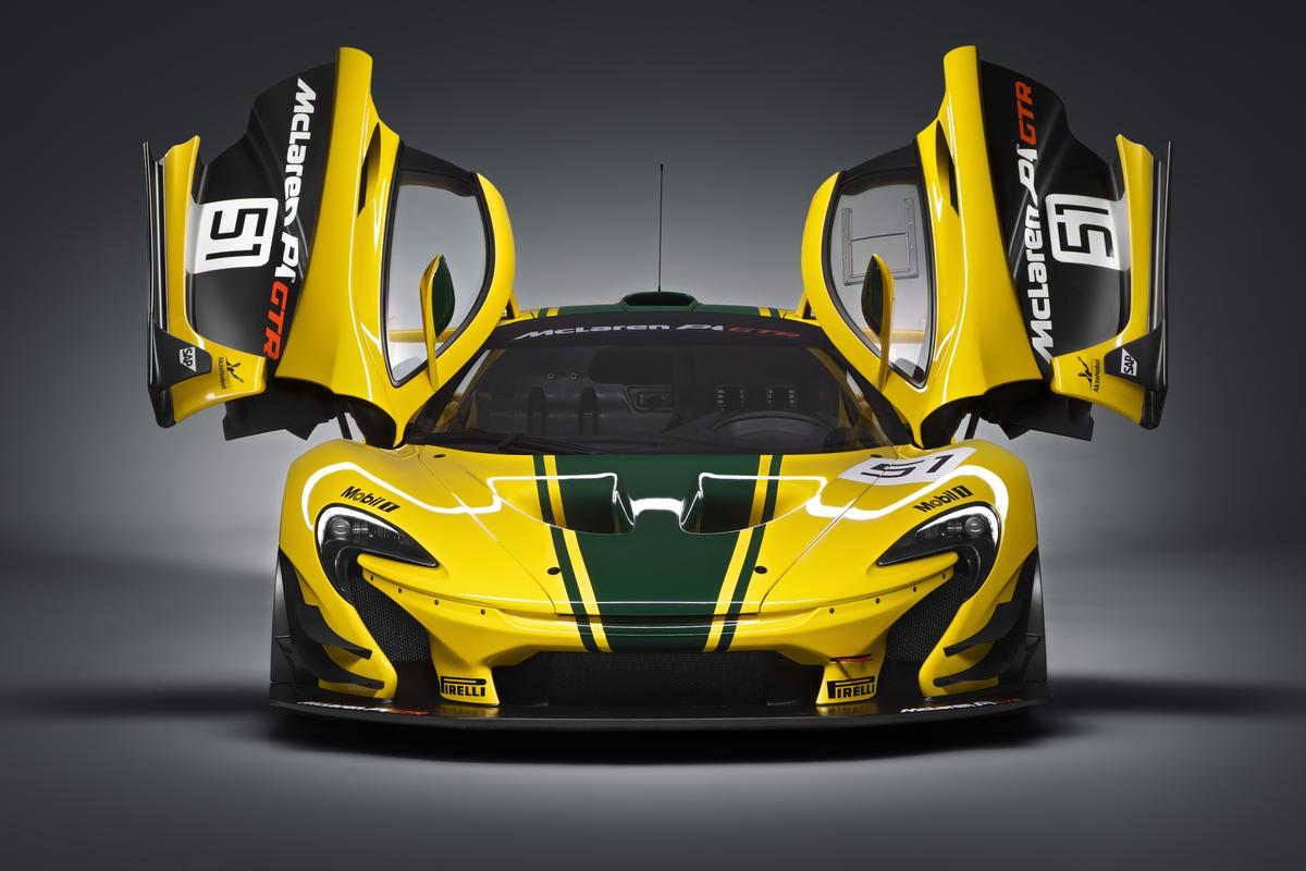 McLaren's P1 GTR is set for a Geneva debut next month