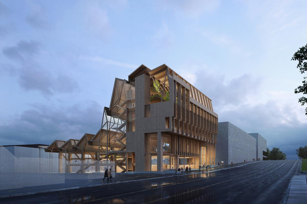 The Anthony Timberlands Center for Design and Materials Innovation is due to begin construction in mid-2020 and has a budget of US$16 million