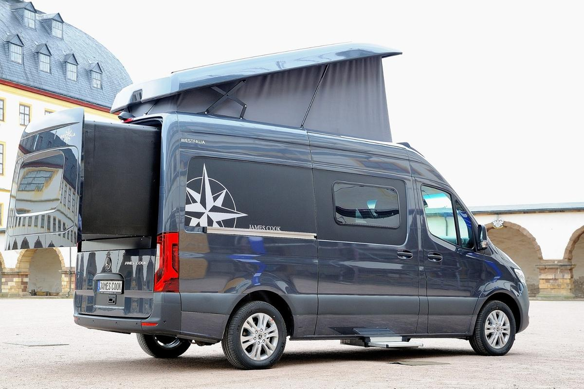 The Westfalia James Cook expands for added interior space