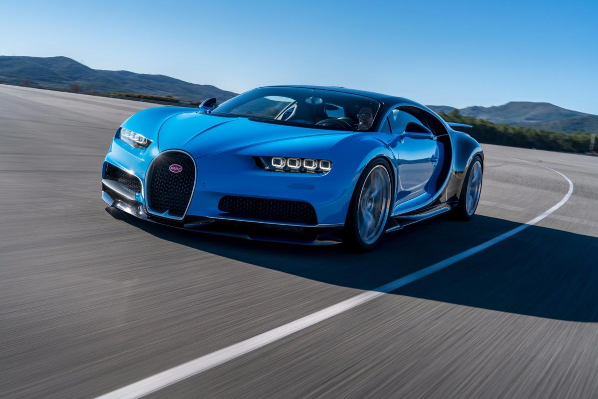 Form follows performance in the new 1500 hp Bugatti Chiron