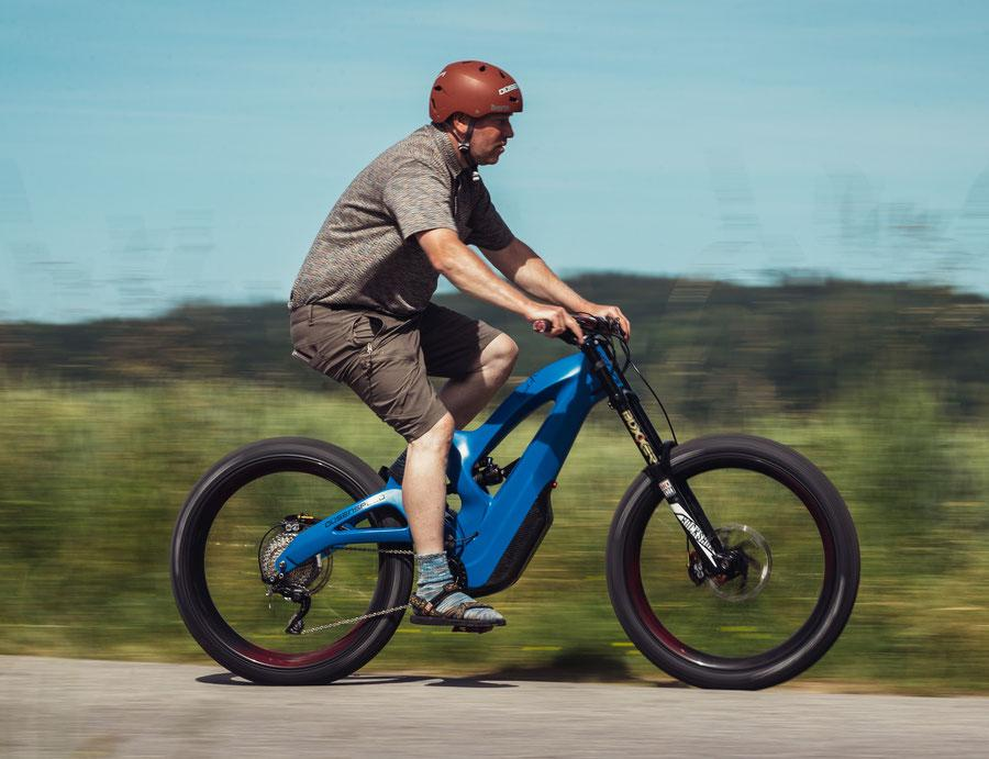 The Düsenspeed Model 3 is designed to do its best work on rough trails