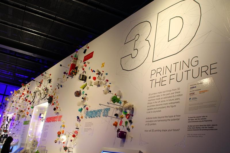 "London's Science Museum is currently hosting ""3D: printing the future,"" looking at the impact of 3D printing on society"