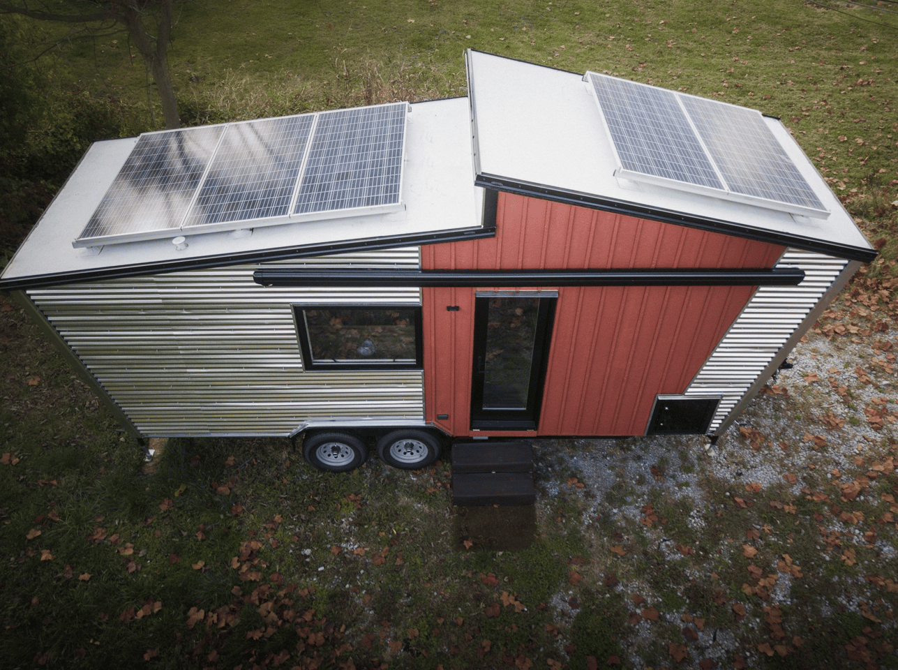 The GoSun Dream gets power from a roof-based solar panel array
