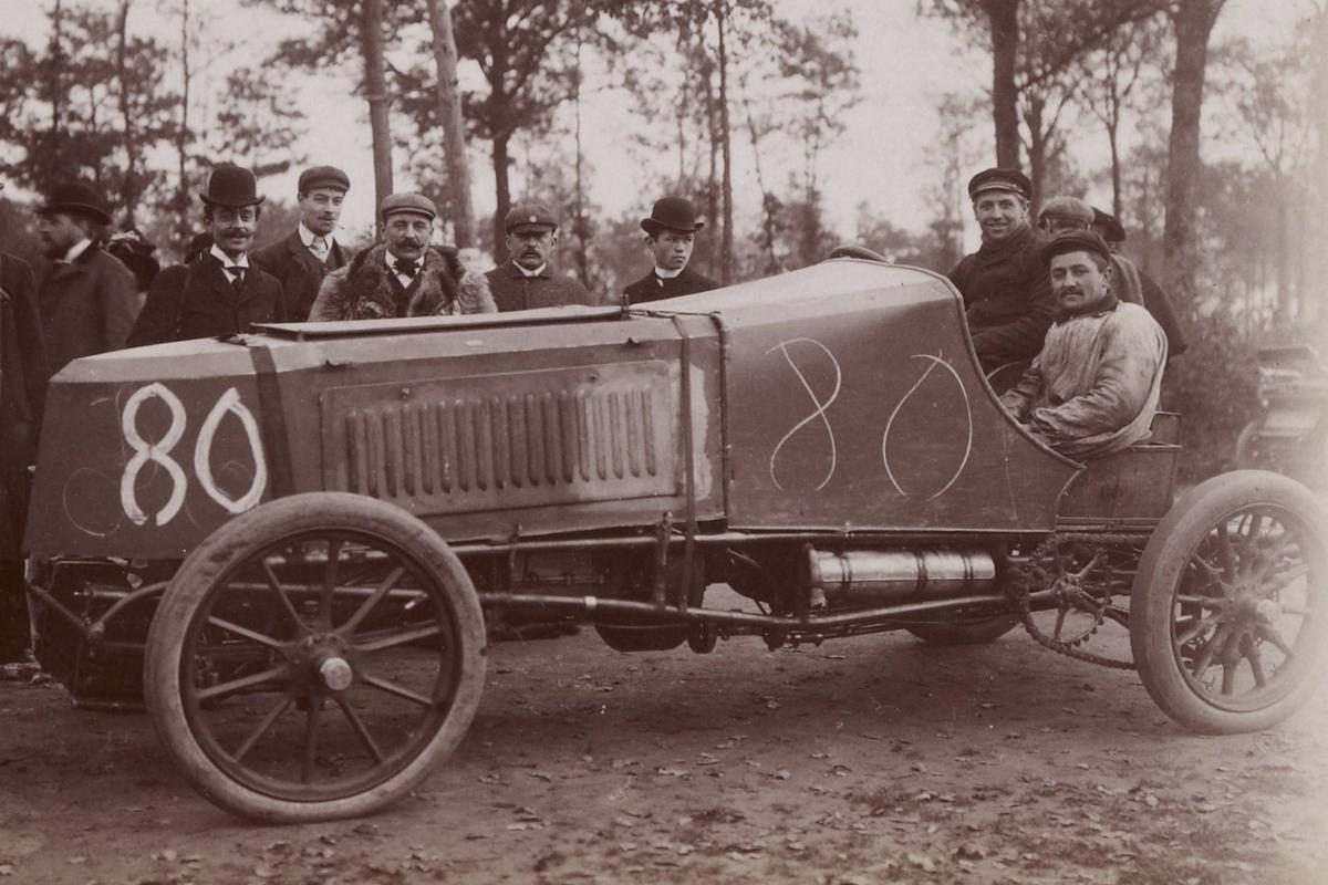 Arthur Bonnet Le Mans the fastest cars in history: 1894 to 1914