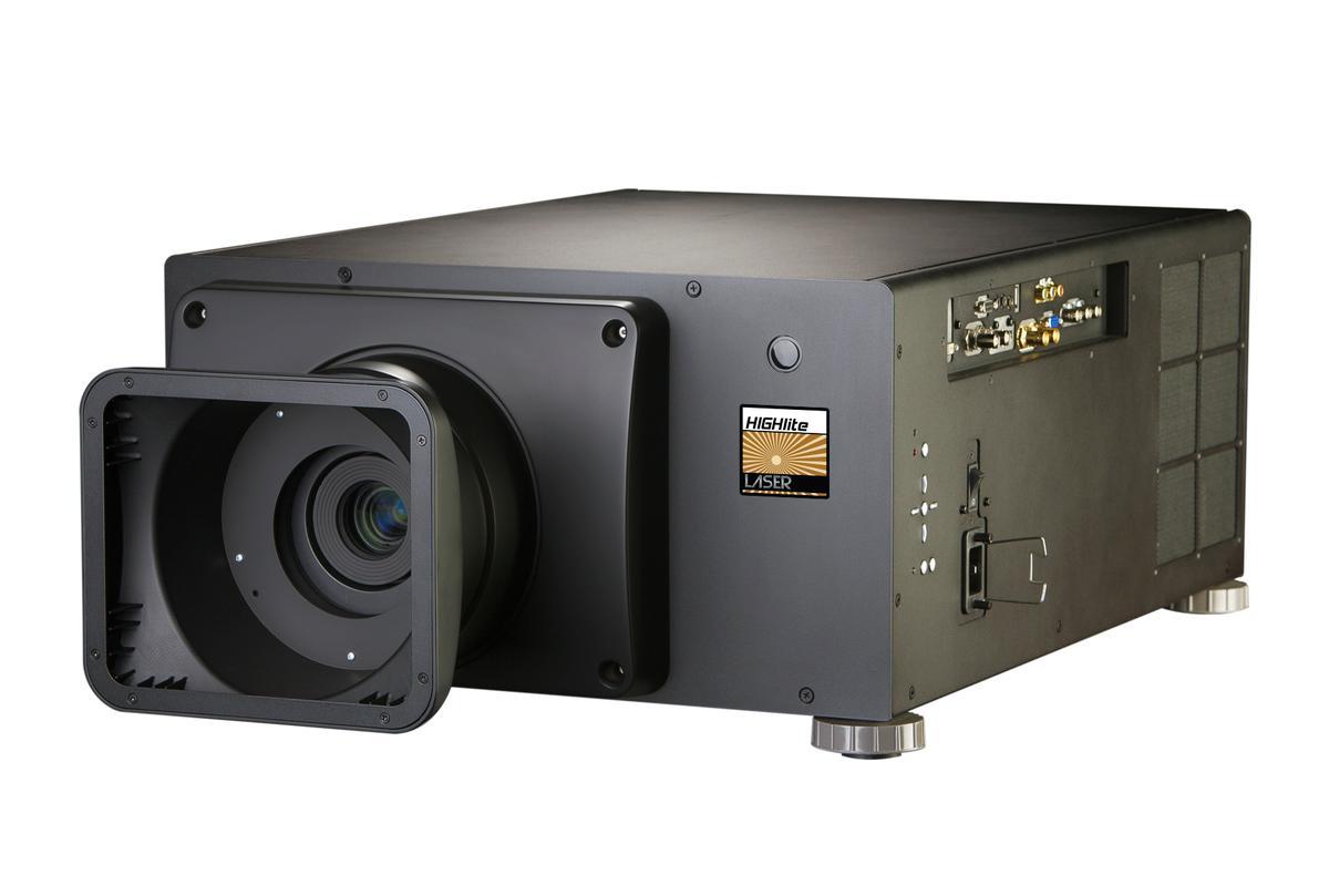 The high brightness HIGHlite LASER WUXGA 3D projector from DPI