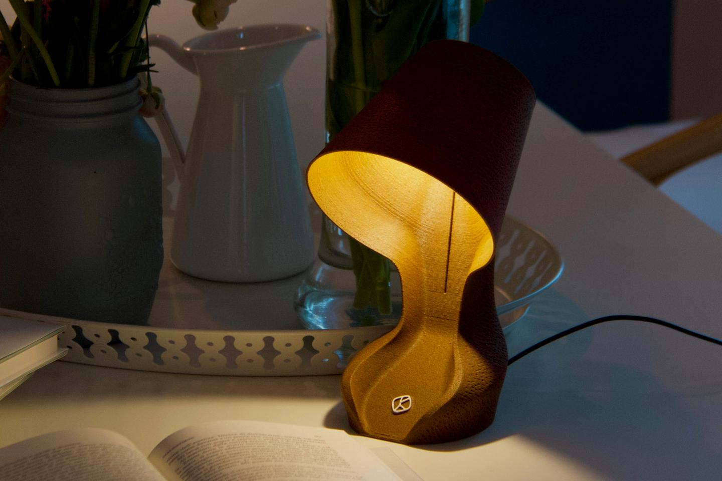 The Ohmie lamp puts out 70 to 90 lumens