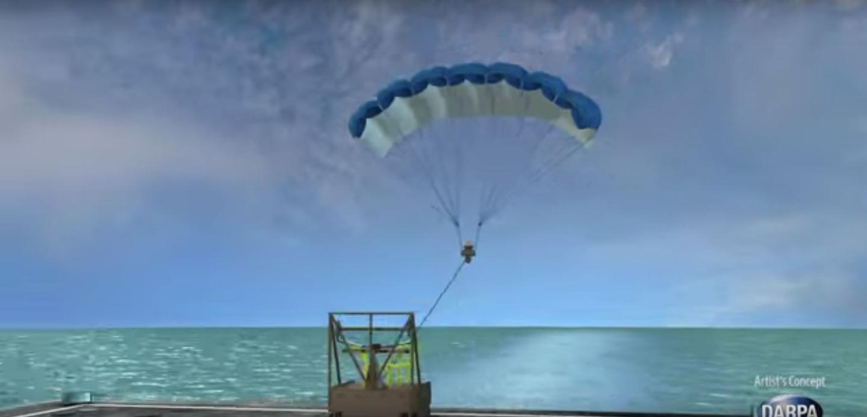 TALONS unit deploying airfoil