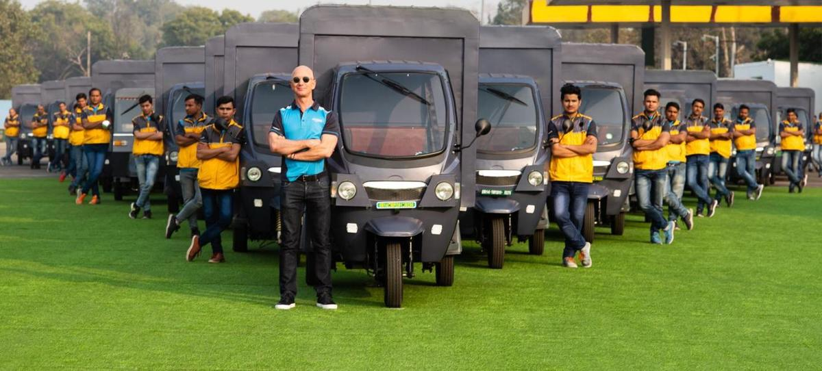 Amazon plans to have 10,000 electric rickshaws in operation across India by 2025