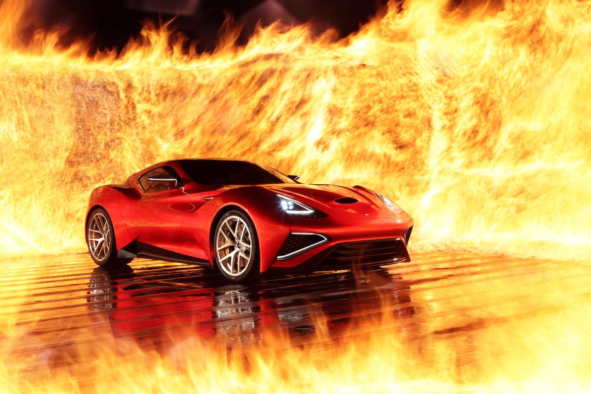 One of only five Vulcanos will be made available ... flames not included