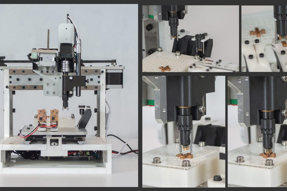 Lego-like assembly system uses just five parts to assemble