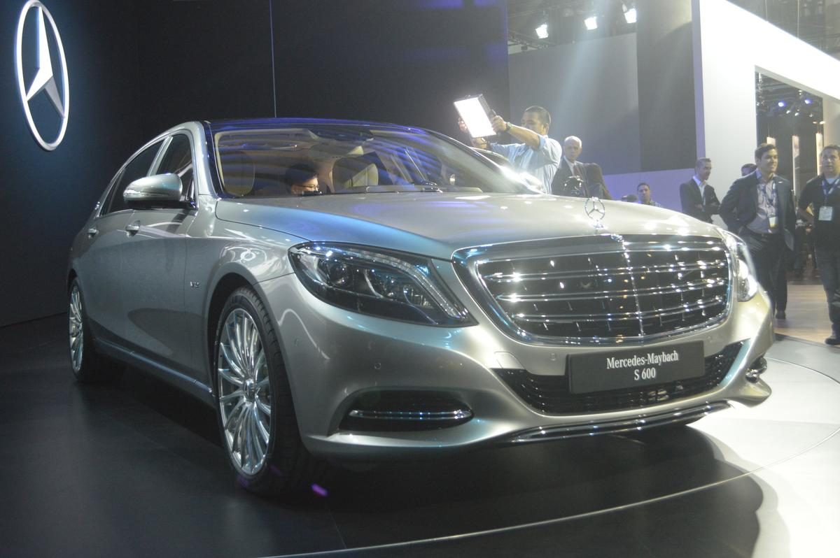 China and the USA are Mercedes' targets for the new Maybach S600 (Photo: C.C Weiss/Gizmag)