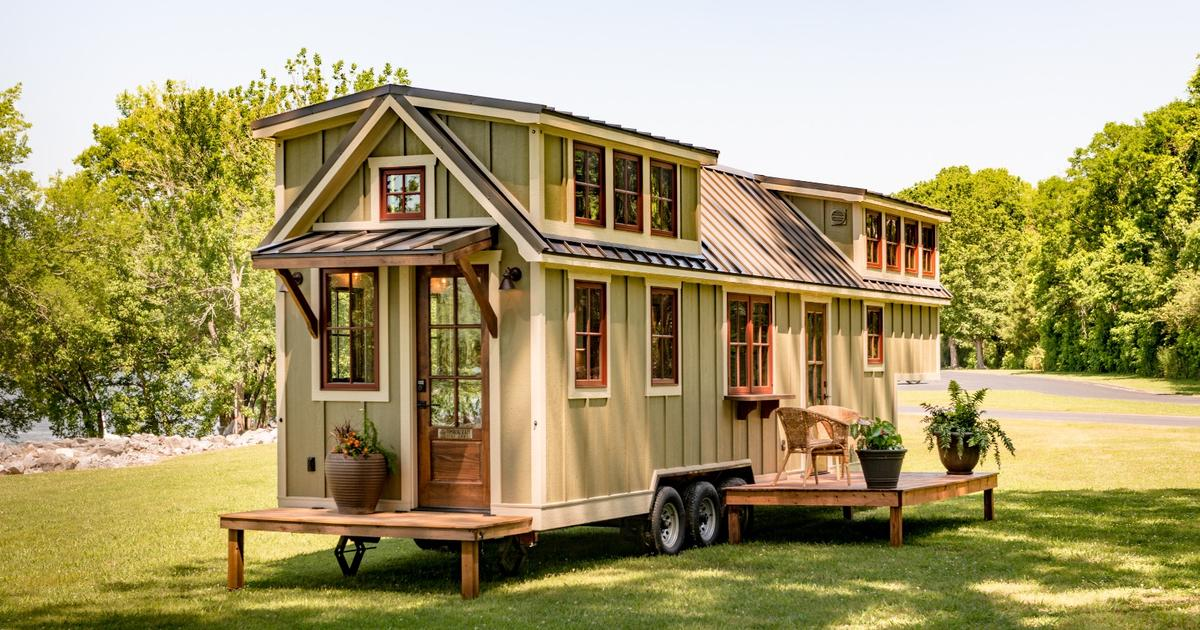 Denali tiny house makes small living feel much less cramped