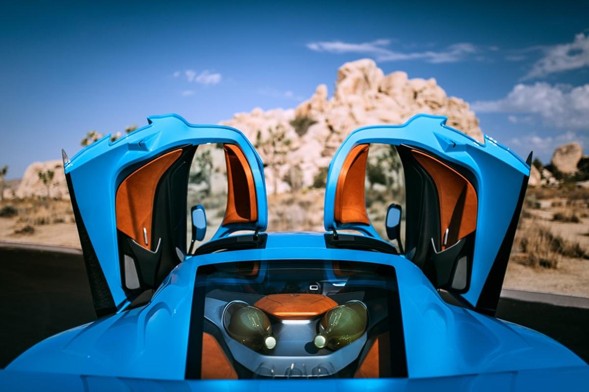 Debuting in California for Monterey Car Week, the Rimac C_Two electric hypercar has been reimagined for California