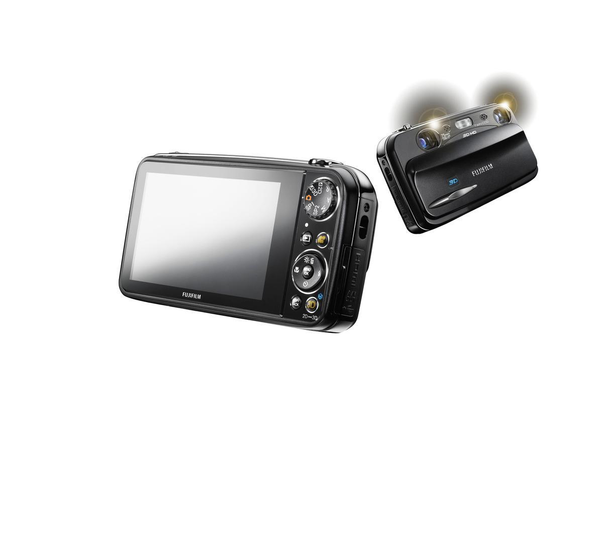 Fujifilm's new Finepix REAL 3D W3