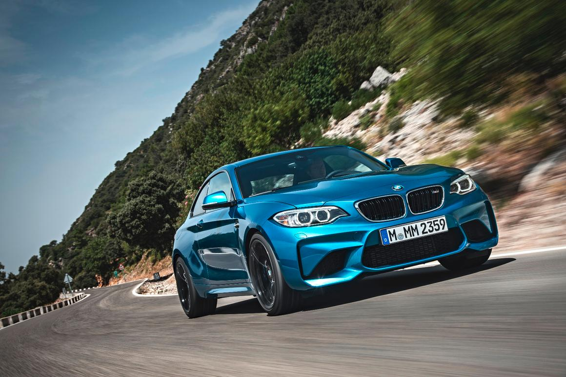 The new BMW M2 coupe takes an already agile machine and boosts its power, performance, aerodynamics and handling