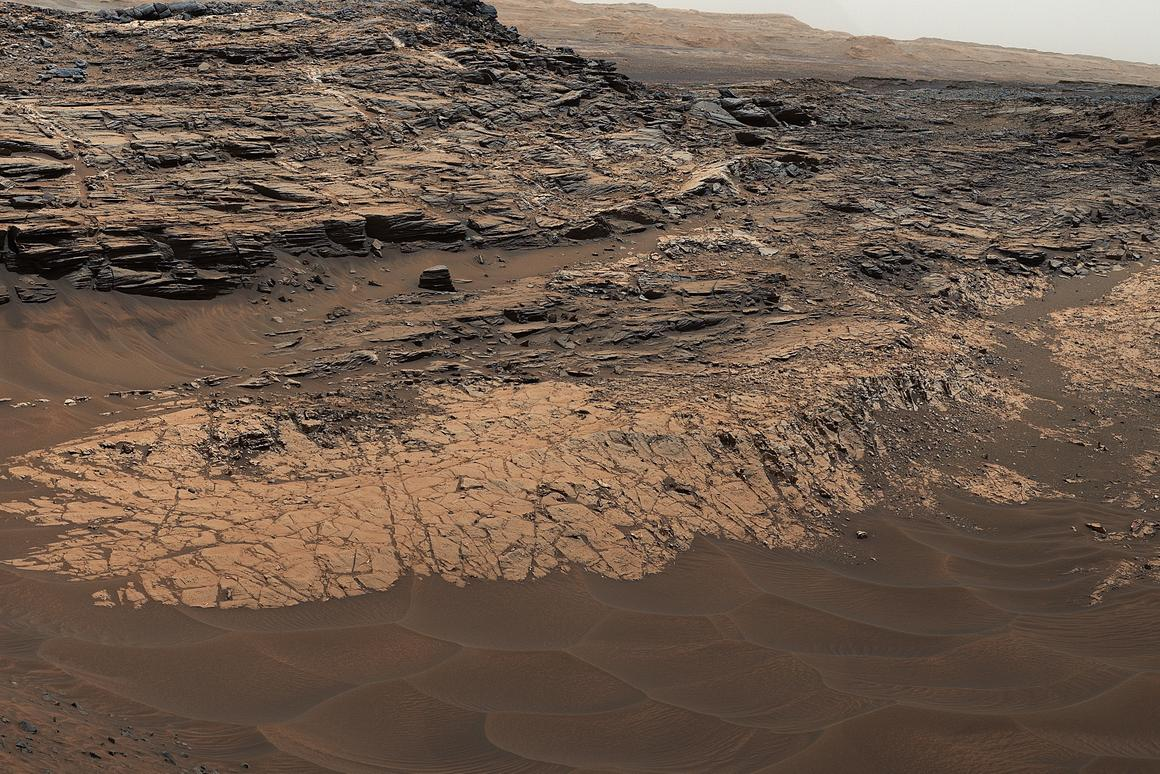 This photofromtheCuriosity rovershows the kind of place that could be teeming with life, if a new study is to be believed