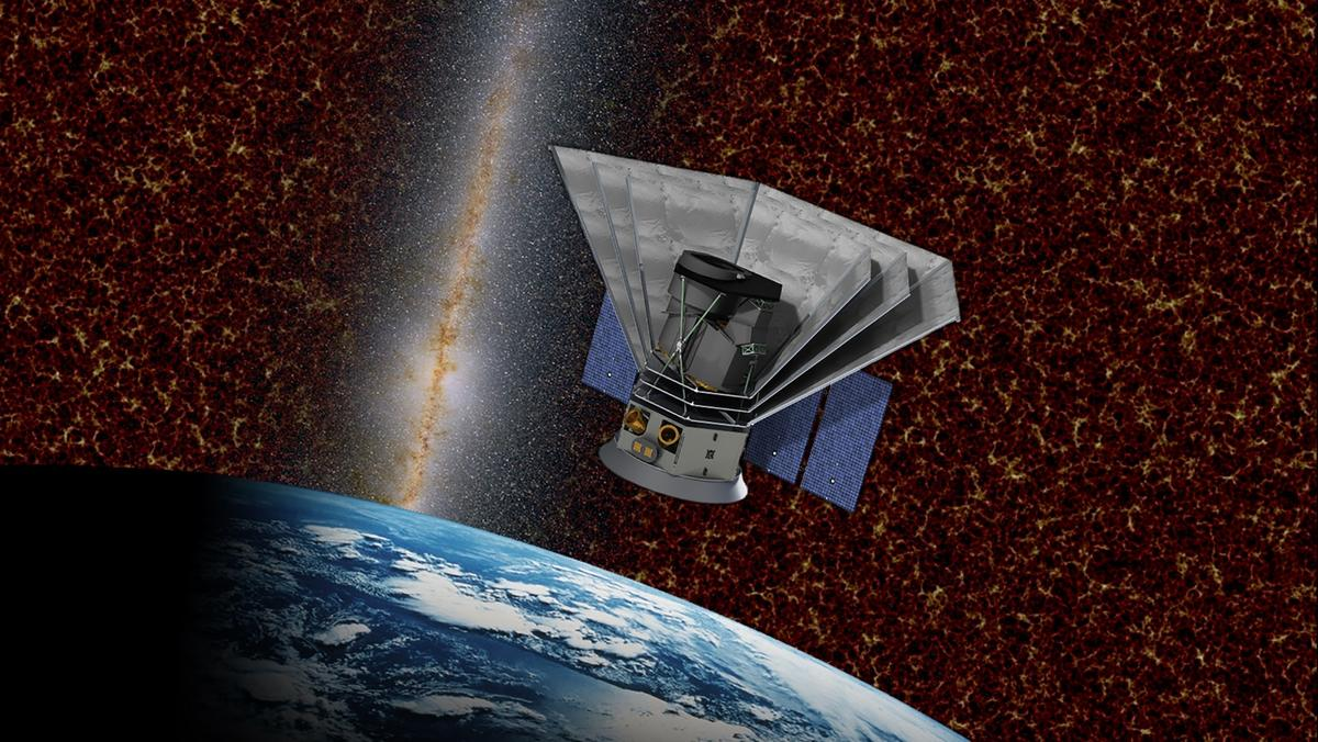 An artist's impression of SPHEREx, the mission NASA has just selected for its Explorers program
