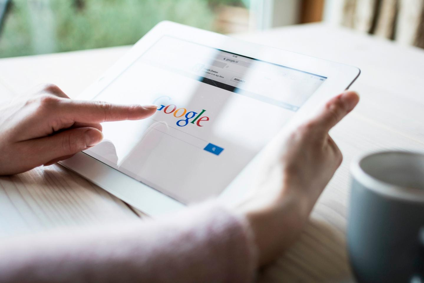 More and more people are using Google as a way of checking on their health